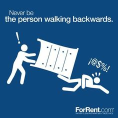 33+ Helpful Moving Tips Everyone Should Know ~ Although this one is just a joke, these are some really good tips!