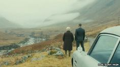 Love this scene: James Bond and M, looking out into Glencoe; Judi Dench and Daniel Craig