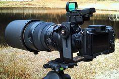 Nikon1のボディーにNikonFマウントのレンズを付けるためのアダプターです♪Nikon1V1+FT1+AF-SED300mmF2.8DⅡ換算810m...