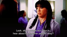 Pin for Later: 31 Times You Felt Like Grey's Anatomy Understood You Better Than Anyone When Callie Reminds All the Couples That Single People Are Not Having It