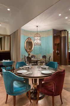 Restaurant Interior Design | Interior Design. Home Decor. #restaurantdesign #interiordesign #hospitalitydesign. Find more inspiration: https://www.brabbu.com/moodboards/