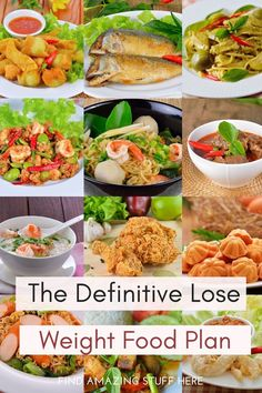 Take the guesswork out of what to eat to lose weight with the definitive lose weight food plan #weightloss #weightlosssuccess #WeightLossHelp #loseweight #loseweightnow #loseweightfast #loseweightfeelgreat #loseweighthealthy #loseweightlookgreat #loseweightsafe #loseweightsafely #loseweighttheeasyway #loseweightasap Keto Recipes Dinner Easy, Quick Easy Dinner, Healthy Recipes, Meal Plans To Lose Weight, How To Lose Weight Fast, Holistic Nutrition, Eat Breakfast, Food Plan, Good Food