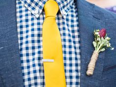 5 Ties Perfect for a Spring Wedding (From Real Groomsmen! Yellow Ties, Yellow Shirts, Homecoming Suits, Mustard Shirt, Modern Gentleman, Stylish Mens Outfits, Summer Suits, Wedding Ties, Suit And Tie