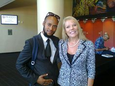 Siyabonga Sithole with Cherie eilertsen looking wonder-full during the Event.