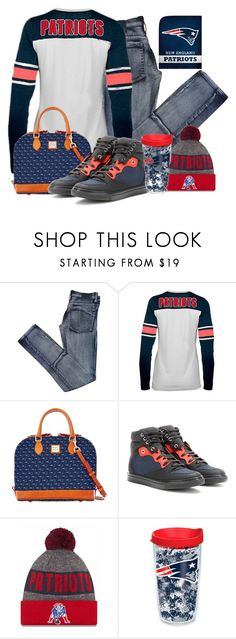 """""""."""" by fashionista-sweets ❤ liked on Polyvore featuring Cheap Monday, New Era, Dooney & Bourke, Balenciaga and Tervis"""