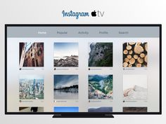 Instagram for tv