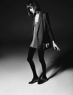 Valery Kaufman by Hedi Slimane for Saint Laurent Fall Winter 2014-2015