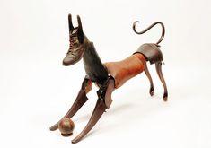 Found-object sculpture by Miquel Aparici