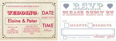 My Top Hitched Wedding Picks From 2013; wedding stationery