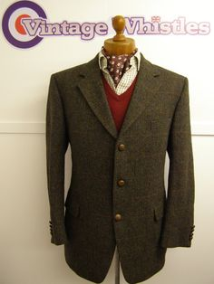 """harris tweed -- reminded of Larry's Party """"there's """"Harris Tweed"""" and then there's Harris Tweed."""