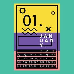 Dope calendar /// Source: imrubenfigueroa