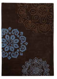 Constance Hand-Tufted Chocolate Area Rug
