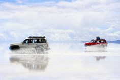 The wonderful salt flats in Bolivia - a great excursion