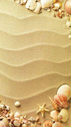 Seaside Wallpaper, Summer Wallpaper, I Wallpaper, Aesthetic Iphone Wallpaper, Wallpaper Backgrounds, Ocean Pictures, Pretty Pictures, Watercolor Card, Jolie Photo