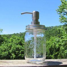 3d21390a44a Non Foaming Mason Jar Soap Dispenser Lid Kit Regular Mouth