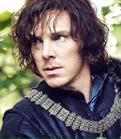 "Benedict Cumberbatch in ""The Hollow Crown"" as Richard III"