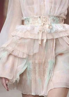 Cotton Candy Colored Couture