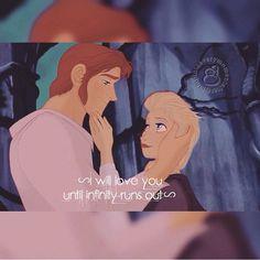 Hans x Elsa | Helsa / Hansla / iceburns Fire & Ice | Disney's Frozen | animated movie crossover Beauty and the Beast | OTP