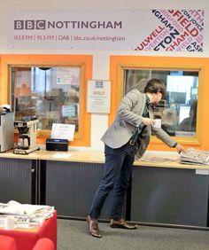 MATT HENSHAW Adventures In Wonderland: Matt Henshaw Interview on BBC Radio Nottingham ......
