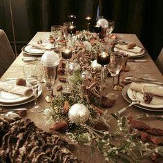 Decoration table noel golf