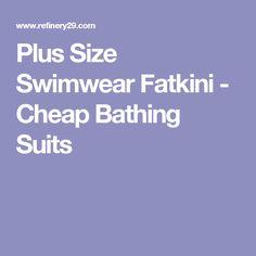 Plus Size Swimwear Fatkini - Cheap Bathing Suits