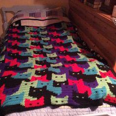 Cat Graphgan by Chelsea Wallace, a Crochet Addict