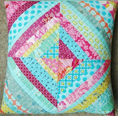 String cushion. | Cushion made from tutorial at Film in the … | maria | Flickr