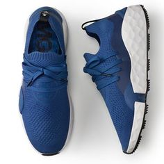 Free Returns On All UK Shoe Orders The golf shoe is brand new this season from G/FORE and one of our favourites hands down. University Blue, Nike Vapor, Nike Roshe, Golf Shoes, Golf Bags, Nike Free, Black Shoes, Things That Bounce, Fashion Forward