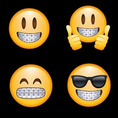 Check out the new #emojis with #braces. Go to Bethany Smile in the App Store to add to your keyboard. #braces #invisalign #dentist #orthodontics #nycorthodontist #nycorthodontist  #nyc #orthodontist #braces #invisalign #yoursmileamasterpiece #jenniferstachelorthodontics #smilenyc