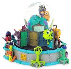Disney Monsters Inc Snowglobe