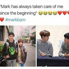 Stop with the ship. Bam was just saying that his hyung always took care of him and that he appreciates it