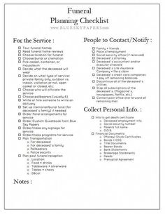 Planning A Funeral Service Template. 20 Planning A Funeral Service Template. Funeral Planning Worksheet In 2020 Funeral Planning Checklist, Emergency Planning, Retirement Planning, Financial Planning, Emergency Preparedness, Survival, Family Emergency Binder, When Someone Dies, Funeral Poems