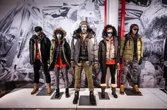"""THE NORTH FACE, """"Out of the showroom and into the wilderness"""", photo by WayLA Creative, pinned by Ton van der Veer"""