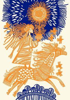 . Art Asiatique, Ukrainian Art, Paper Artwork, Painting Inspiration, Folk Art, Art Drawings, Art Photography, Illustration Art, Lithuania