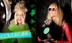 COVERGIRLs NERVO rock their electric looks on the set of their first COVERGIRL photo shoot.