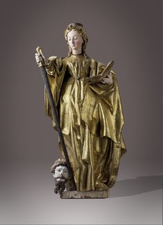 Senger Bamberg Kunsthandel  - www.senger-bamberg.de St. Catherine - Gregorio Fernández (1576 – 1636 Valadolid)  Spanish Sculptor – worked almost exclusively in the #Baroque style – member of the #Castillian School of Baroque – born in #Galicia – moved to #Valladolid – commissions from #Duke of #Lerma, #Spanish #King. #Philipn111 & 1V, Counts of #Fuensaldaña -  #Museo #del #Prado - Valladolid #El Museo #Nacional de #Escultura    www.bamberger-antiquitaeten.de