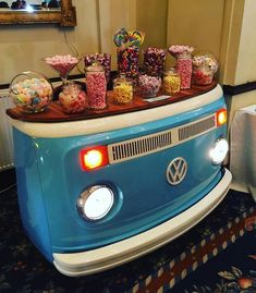Legendary Vehicle Volkswagen comes to life in decorative products – Decology – Home D … - Diy Möbel Car Part Furniture, Automotive Furniture, Automotive Decor, Furniture Ideas, Volkswagen, Design Garage, House Design, Vw Camping, Car Parts