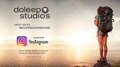Follow Doleep Studios Instagram Account: http://instagram.com/doleepstudios www.doleep.com #doleepstudios #Socialmedia #digitalmarketing #facebook #twitter #instagram #linkedin #youtube #excellence