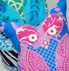 Free Owl Softie Pattern