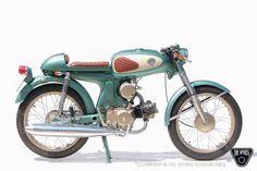 Honda S90, Honda Scrambler, 50cc Moped, Yamaha 125, Vintage Bikes, Vintage Motorcycles, Vintage Vespa, Custom Motorcycles, Motorcycle Engine
