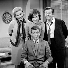 The Dick Van Dyke Show -- still one of the best in television history. I spent a lot of days home sick and watched its episodes over and over. Have always been in love with Rob Petrie.
