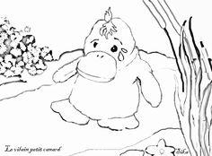 Les 41 meilleures images de le vilain petit canard crafts animal crafts for kids et bricolage - Coloriage vilain petit canard ...