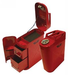 Clever Jerry Can Tool Box.