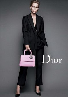 J Law in Dior Ad