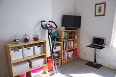 Room for Improvement Challenge Room For Improvement, Improve Yourself, Living Spaces, Bookcase, Challenges, Shelves, Desk, Furniture, Home Decor