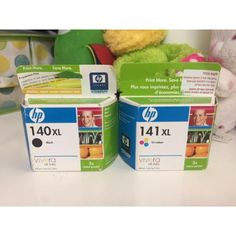 Lot of 2 HP Ink Cartridges 140 XL Deskjet in Computers/Tablets & Networking > Computer Components & Parts > Other Components & Parts Christian Dior Jadore, Hp Printer, Ink Cartridges, Pure Products, This Or That Questions, Health, Vivarium, Health Care, Salud