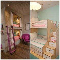 aménagement chambre enfant - lit mezzanine de design élégant pour les petites…