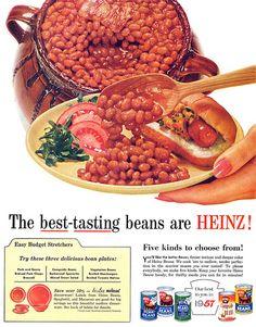 Heinz Beans advertisement.