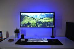 My minimalist ultrawide setup
