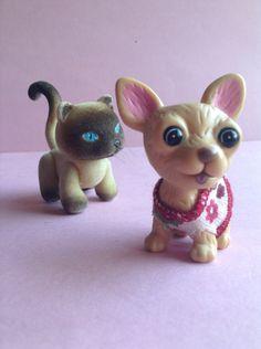 Doll Pets, Cat or Chihuahua, Barbie / My Scene/ Bratz /  Bratzilla / Monster High / Blythe, doll parts, doll accessories, EGST, Greece by GirlySuppliesDeJaVu on Etsy